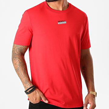 HUGO - Tee Shirt Durned 50435529 Rouge