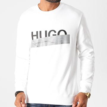 HUGO - Sweat Crewneck Dicago 50436126 Blanc