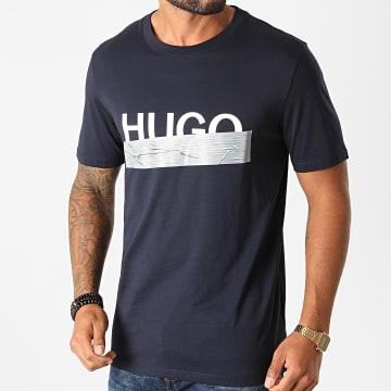 HUGO - Tee Shirt Dicagolino 50436413 Bleu Marine