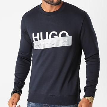 HUGO - Sweat Crewneck Dicago 50436126 Bleu Marine