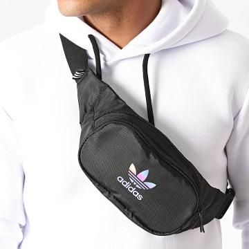 Adidas Originals - Sac Banane Essential Waistbag GD4609 Noir Iridescent
