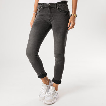 Girls Only - Jean Slim Femme Pallas Gris Anthracite