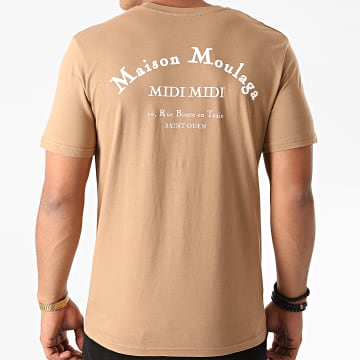 Heuss L'Enfoiré - Tee Shirt Maison Moulaga Marron