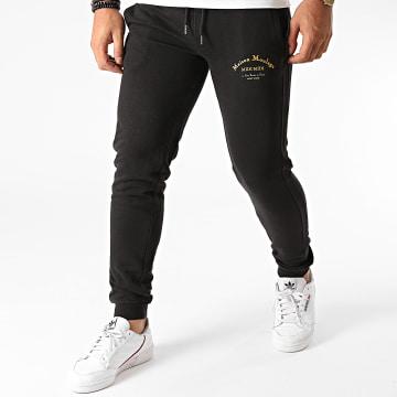 Heuss L'Enfoiré - Pantalon Jogging Maison Moulaga Noir Doré