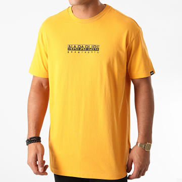 Napapijri - Napapijri -Tee Shirt Box Jaune