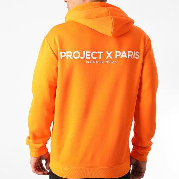 Project X Paris - Sweat Capuche 2020074 Orange