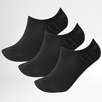 Reebok - Lot De 3 Paires De Chaussettes Invisibles GH0424 Noir