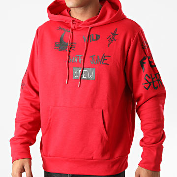 Sixth June - Sweat Capuche M21821VSW Rouge