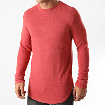 Uniplay - Tee Shirt Manches Longues Oversize T706 Rouge