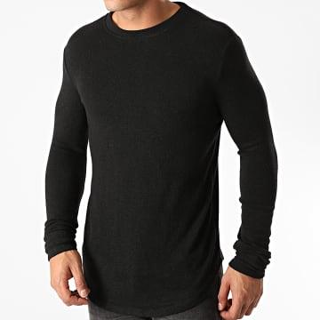Uniplay - Tee Shirt Manches Longues Oversize T706 Noir