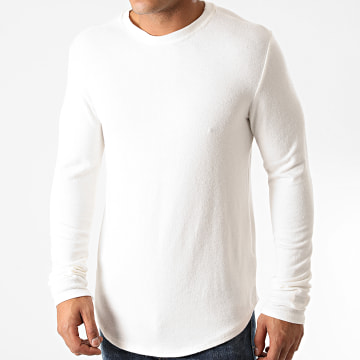 Uniplay - Tee Shirt Manches Longues Oversize T706 Ecru