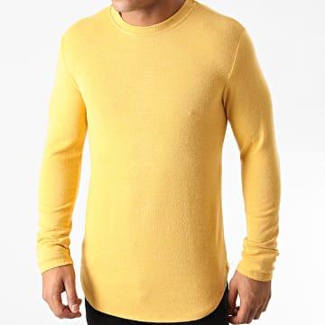 Uniplay - Tee Shirt Manches Longues Oversize T706 Jaune