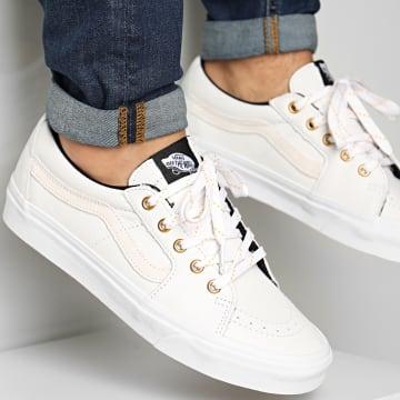Vans - Baskets Sk8-Low 4UUKL3H True White