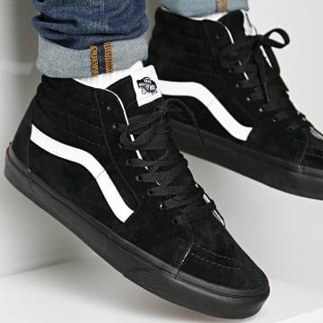 Vans - Baskets Montantes Sk8-Hi Suede 4BV618L Black Black