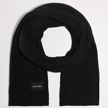 Calvin Klein - Echarpe Knitted 6057 Noir