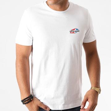 Diesel - Tee Shirt Diegos K36 A00797-0AAXJ Blanc