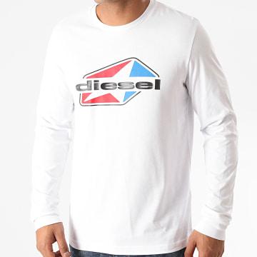 Diesel - Tee Shirt Manches Longues Diegos K41 A00798-0AAXJ Blanc