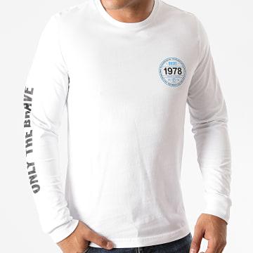 Diesel - Tee Shirt Manches Longues Diegos K42 A00837-0AAXJ Blanc