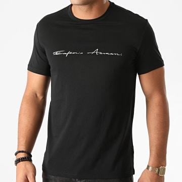 Emporio Armani - Tee Shirt Organic 110853 Noir
