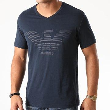 Emporio Armani - Tee Shirt Organic 111028 Bleu Marine