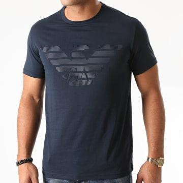 Emporio Armani - Tee Shirt Organic 111019 Bleu Marine