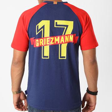 FC Barcelona - Tee Shirt B19053C Bleu Marine Rouge