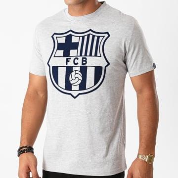 FC Barcelona - Tee Shirt B20003C Gris Chiné
