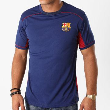 FC Barcelona - Tee Shirt B20009C Bleu Marine Bordeaux