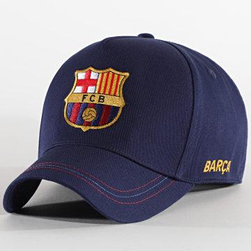 FC Barcelona - Casquette Big Logo B20016 Bleu Marine