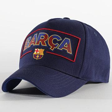 FC Barcelona - Casquette Fan B20015 Bleu Marine