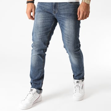 Indicode Jeans - Jean Slim Tony Bleu Denim