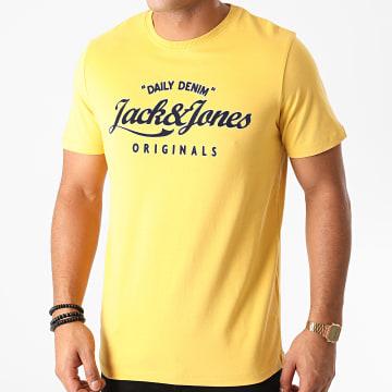 Jack And Jones - Tee Shirt Lars Jaune