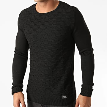 Paname Brothers - Pull PNM-209 Noir