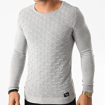 Paname Brothers - Pull PNM-209 Gris