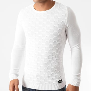 Paname Brothers - Pull PNM-209 Blanc