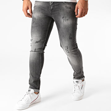 Project X - Jean Skinny T19953 Gris Anthracite