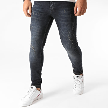 Project X - Jean Skinny T19959 Bleu Denim