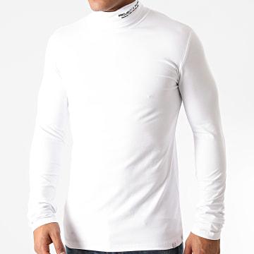Project X - Sweat Col Roulé 2020071 Blanc