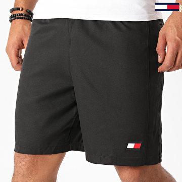 Tommy Sport - Short Jogging Logo Woven Flag 0567 Noir