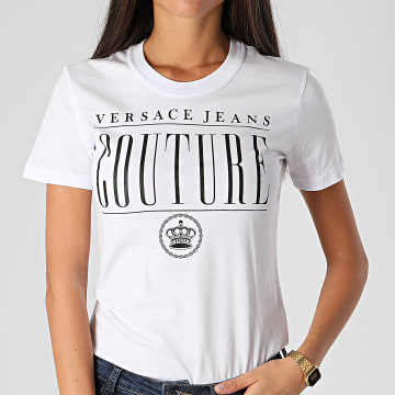 Versace Jeans Couture - Tee Shirt Femme B2HZB7TM-30319 Blanc