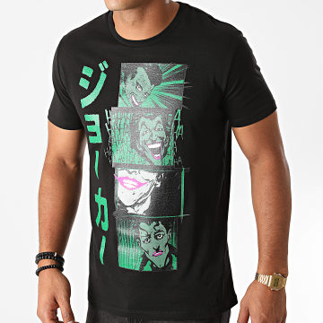 DC Comics - Tee Shirt Joker Comics Noir
