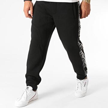 Emporio Armani - Pantalon Jogging A Bandes 6H1P83-1JDSZ Noir