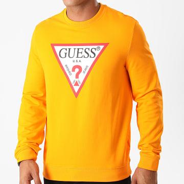 Guess - Sweat Crewneck M0BQ37K7ON1 Orange