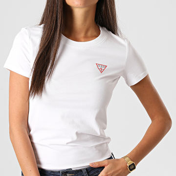 Guess - Tee Shirt Femme W0BI19J1311 Blanc