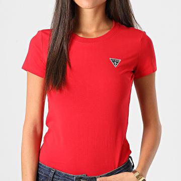 Guess - Tee Shirt Femme W0BI19J1311 Rouge