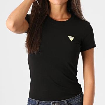 Guess - Tee Shirt Femme W0BI19J1311 Noir