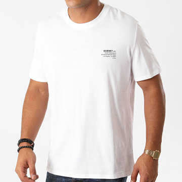 Guess - Tee Shirt M0BI66K8HM0 Blanc