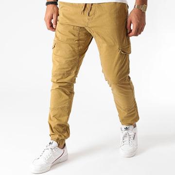 Indicode Jeans - Jogger Pant Levi Camel