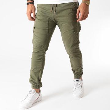 Indicode Jeans - Jogger Pant Levi Vert Kaki