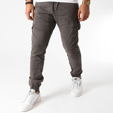 Indicode Jeans - Jogger Pant Levi Gris Anthracite